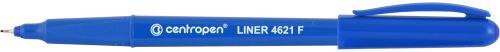 Liner 4621 F modrý hrot v kovové objímce 0,3 mm_2