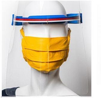 Ochranný štít z polykarbonátu pro použití ve zdravotnictví M - 280 mm_4