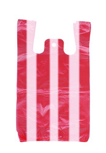 Mikrotenová taška 10 kg pruhovaná 200 ks