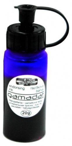 Razítková barva Gamadat modrá _2