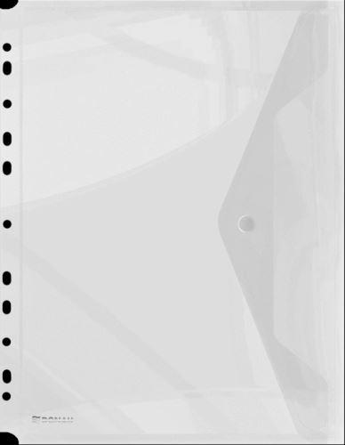 Obálka s drukem průhledná A4, euroděrování PP, transparentní