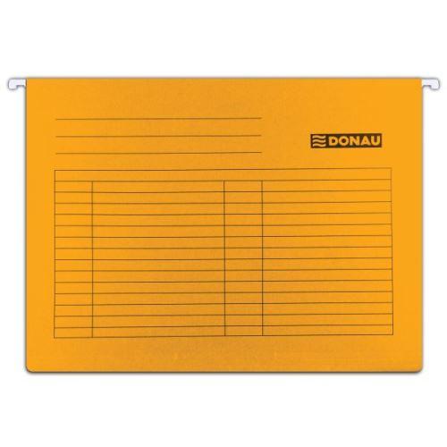Závěsné desky - kapsy A4 oranžové