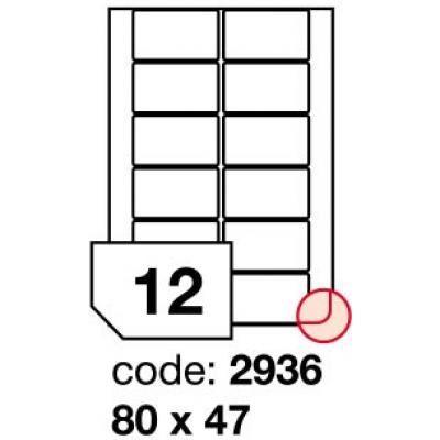 etikety 80x47 12etiket arch/100 archů