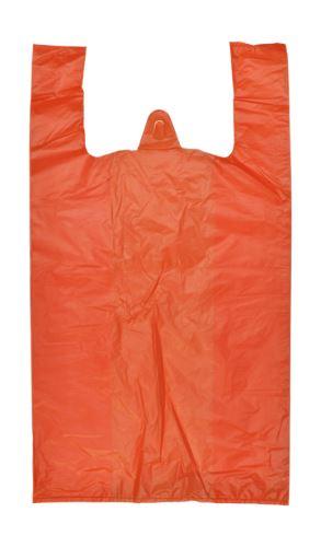 Taška 10 kg oranžová EXTRA PEVNÁ 20mic. 200 ks.