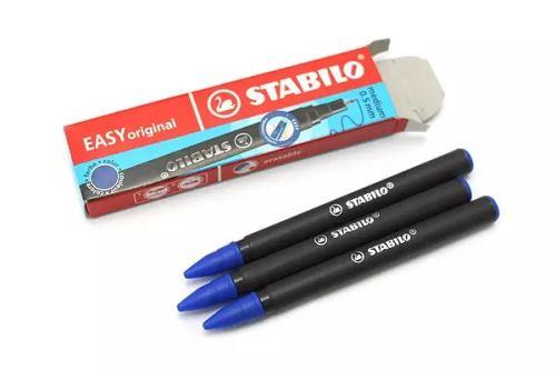 Náplň STABILO EASY 0,5mm modrá  3 ks