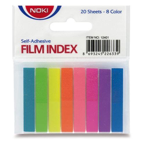 Bloček MEMO film index 8 barev NOKI