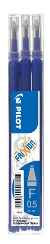 Náplň Pilot FriXion Clicker 0,5 mm modrá bal 3 ks