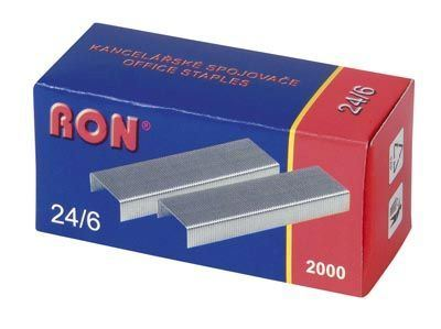 Drátky 24/6 RON 2000 ks