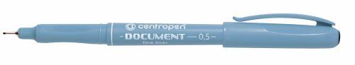 Liner 2631 DOCUMENT modrý 0,1 mm ,  kovová objímka_3
