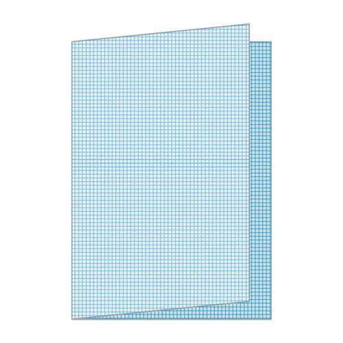Papír skládaný A3 čtvereček balení 250 listů