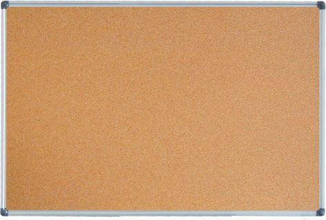 Korková tabule 100x200 s alu rámem