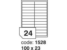 etikety 100x23 24 etiket arch/100 archů Rayfilm