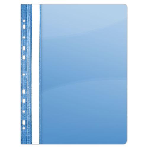 Rychlovazač A4 PVC eurozávěs modrý