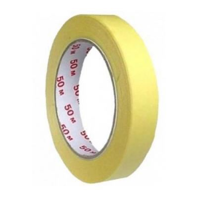 Krepová lepící páska 25mm x 50m žlutá_2