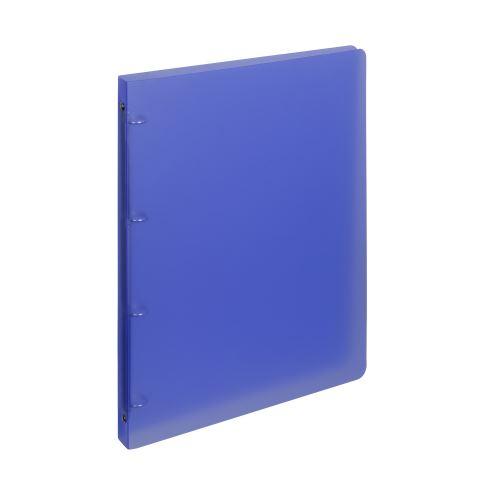 Pořadač 4-kroužek PP A4 2cm OPALINE modrý_2