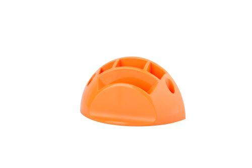 Držák psacích potřeb a bločku oranžový