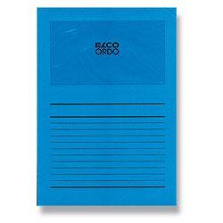 Desky ELCO s okénkem ORDO, modrá
