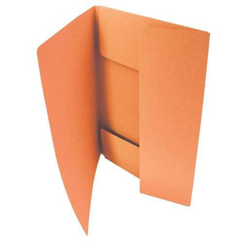 Odkládací mapa tříklopá 253 oranžová_2