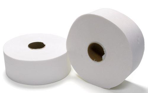 Toaletní papír JUMBO 19 2-vrstvý bílý 100% celulóza