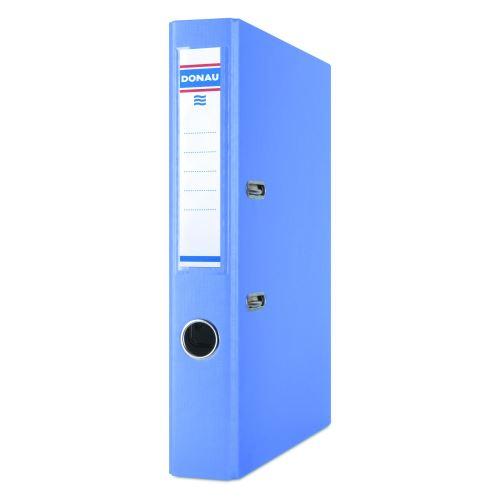 Pořadač pákový A4 5cm PP světle modrý  DONAU