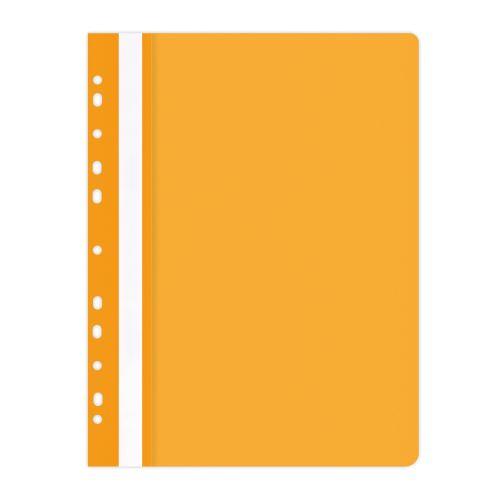 Rychlovazač A4 PVC eurozávěs oranžový