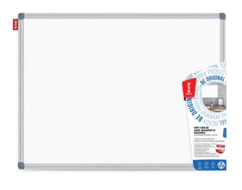 Bílá magnetická tabule 60x90 cm ALU rám