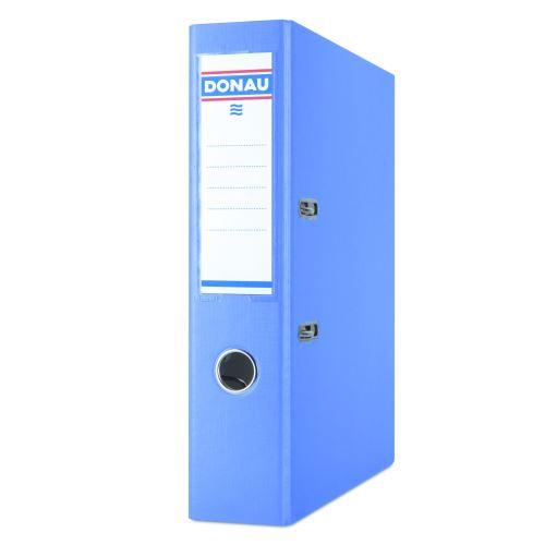 Pořadač pákový A4 7,5 cm PP světle modrý DONAU_2