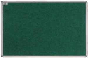 Tabule ekoTAB s textilním povrchem 120x90cm šedá