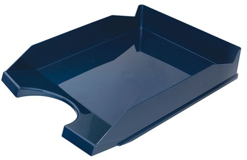 Kancelářský odkladač, A4, PS-PP, tm. modrý