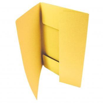 Odkládací mapa tříklopá 253 žlutá_2