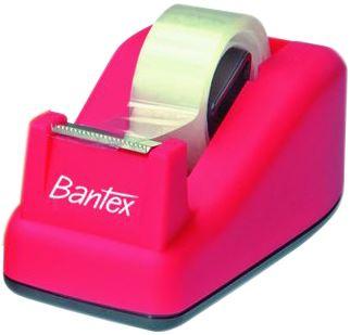 Odvíječ lepící pásky Bantex růžový
