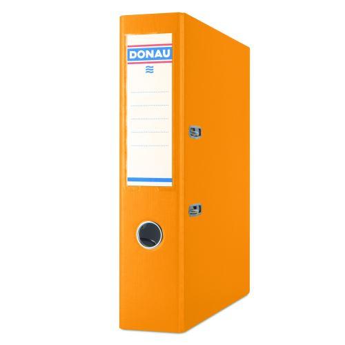 Pořadač pákový A4 7,5 cm PP oranžový DONAU_2