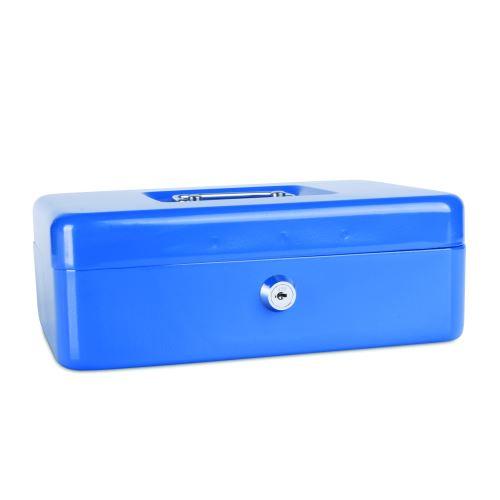 Příruční pokladna 250x180x90 modrá