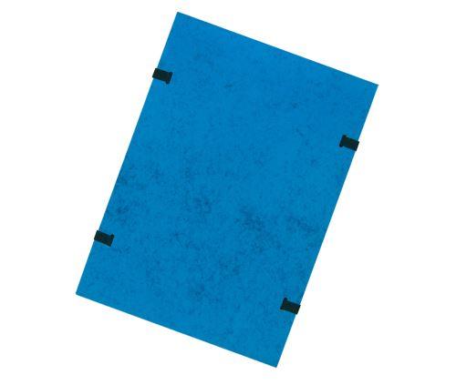 Spisové desky s tkanicí A4 modré prešpán