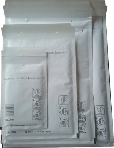 Bublinková obálka A5+ taška D/14 bílá 200x270 (180x260)_2