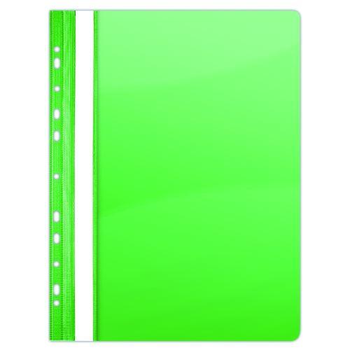 Rychlovazač A4 PVC eurozávěs zelený