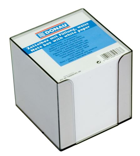 Špalík v plastovém zásobníku, bílý nelepený