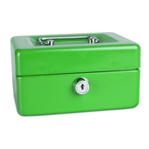 Příruční pokladna 152x115x80 zelená