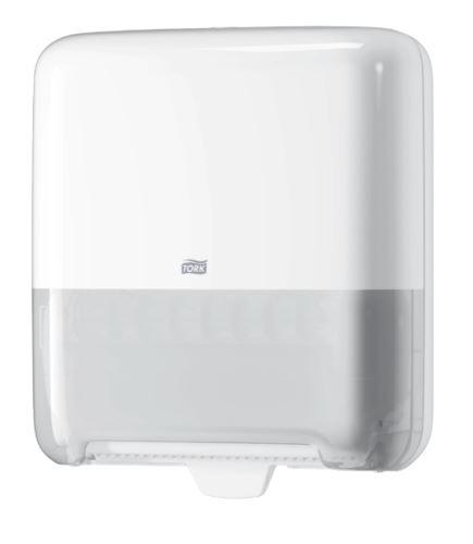 Zásobník na papírové ručníky v roli, bílý H1 TORK Matic®