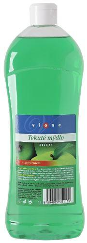 Vione tekuté mýdlo 1000 ml. zelené - jablko s glycerinem