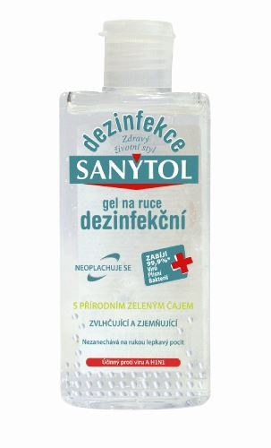 Sanytol  dezinfekční gel, 75 ml