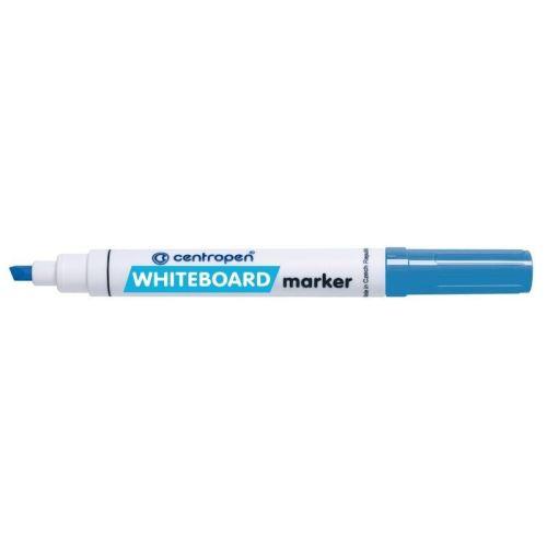 Značkovač 8569 STÍRATELNÝ – WBM modrý  zkosený hrot 5 mm