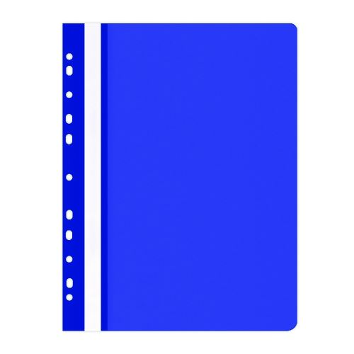 Rychlovazač  A4, euroděrování, PP, 100/170 µm, modrý