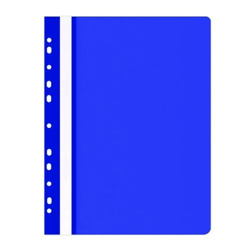 Rychlovazač A4 PP modrý přední průhledná strana