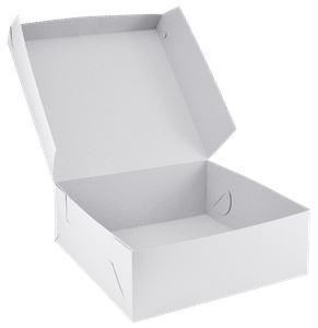 Krabice dortová 32x32x10 cm 50 ks v bal.