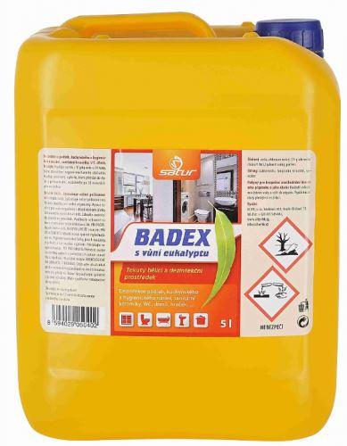 SATUR BADEX s vůní eukalyptu 5l  dezinfekční přípravek