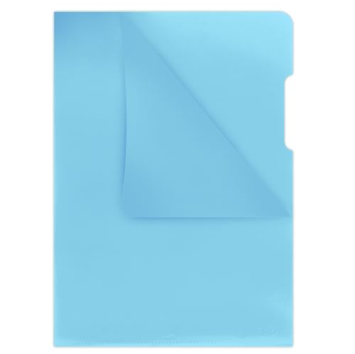 Zakládací obal A4 180 mic. silný hladký modrý DONAU