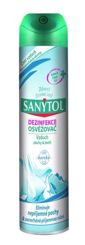Sanytol dezinfekční osvěžovač vzduchu - horská vůně, 300 ml