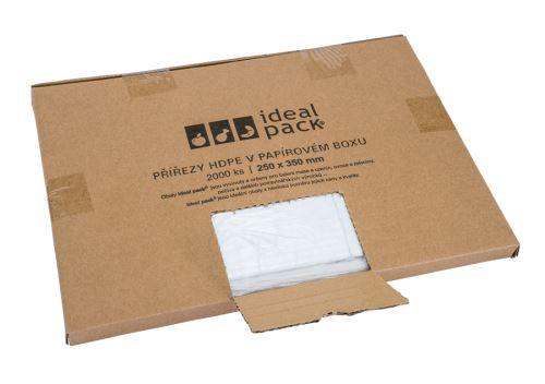 Mikrotenový přířez 25x35 2000ks v papírovém boxu