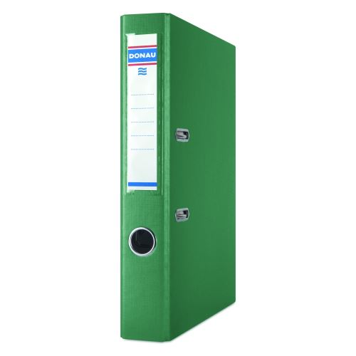 Pořadač pákový A4 5cm PP zelený DONAU_2
